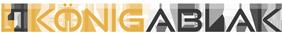 Konigablak Logo Vilagos Alapra